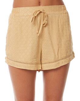 MUSTARD OUTLET WOMENS THE HIDDEN WAY SHORTS - H8182231MSTRD