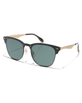 BRUSHED GOLD MENS ACCESSORIES RAY-BAN SUNGLASSES - 0RB3576NGLD