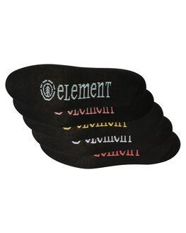 BLACK WOMENS CLOTHING ELEMENT SOCKS + UNDERWEAR - 284653ABLK