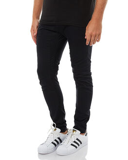 JET BLACK MENS CLOTHING NENA AND PASADENA PANTS - NPMAP001JBLK