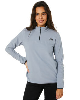 MID GREY WOMENS CLOTHING THE NORTH FACE JUMPERS - NF0A48KKCTE