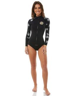 BLACK SURF RASHVESTS BILLABONG WOMENS - 6785005BLK