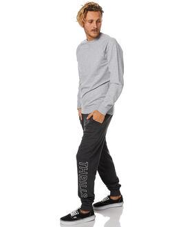 VINTAGE BLACK MENS CLOTHING THRILLS PANTS - TW7-401VBVBLK