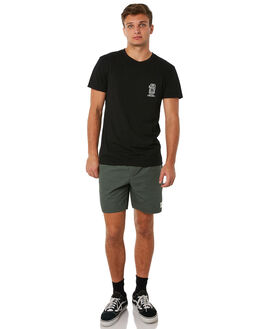 DARK OLIVE MENS CLOTHING RHYTHM SHORTS - JUL18M-JM01OLI