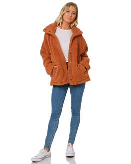TOFFEE WOMENS CLOTHING BILLABONG JACKETS - 6595736T22