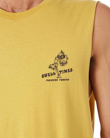 SUN BAKE OUTLET MENS SWELL SINGLETS - S5202276SUNBA