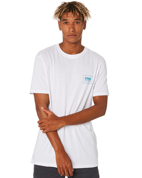 WHITE MENS CLOTHING RIP CURL TEES - CTEYE21000