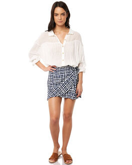 INDIGO WOMENS CLOTHING TIGERLILY SKIRTS - T381276IND