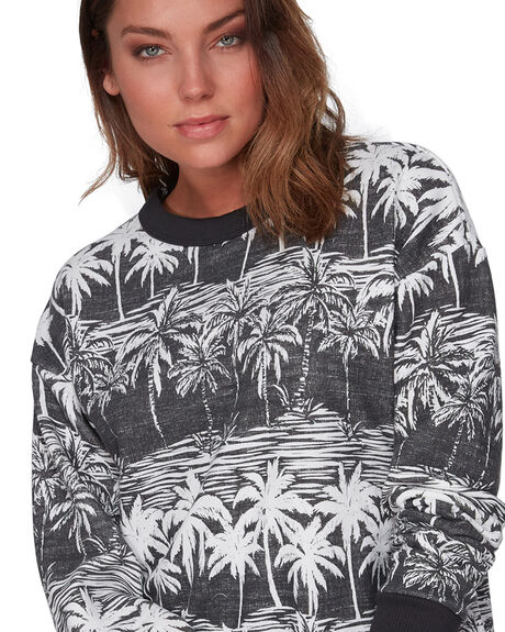 OFF BLACK WOMENS CLOTHING BILLABONG JUMPERS - BB-6508742-OFB