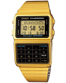 GOLD MENS ACCESSORIES CASIO WATCHES - DBC611G-1DGLD