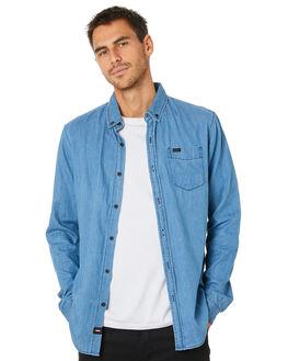 INDIGO MENS CLOTHING GLOBE SHIRTS - GB01934001IND