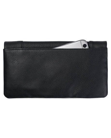 BLACK WOMENS ACCESSORIES STATUS ANXIETY PURSES + WALLETS - SA1341BLK