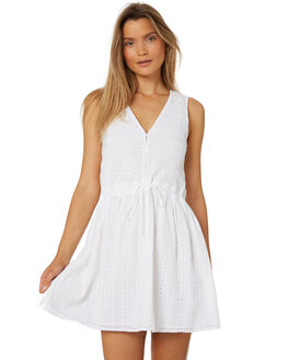WHITE OUTLET WOMENS RUSTY DRESSES - DRL0943WHT