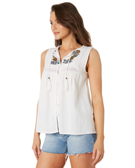 WHITE OUT WOMENS CLOTHING O'NEILL FASHION TOPS - 4821021WHI