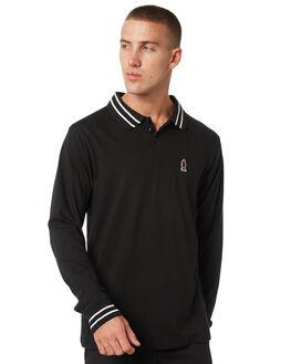 PIRATE BLACK MENS CLOTHING RVCA SHIRTS - R393701PRBLK
