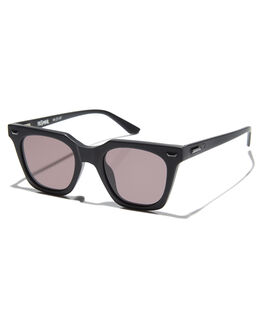 MATTE BLACK SILVER MENS ACCESSORIES VALLEY SUNGLASSES - S0458MBLK