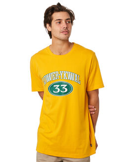 GOLD MENS CLOTHING LOWER TEES - LO19Q2MST01GLD