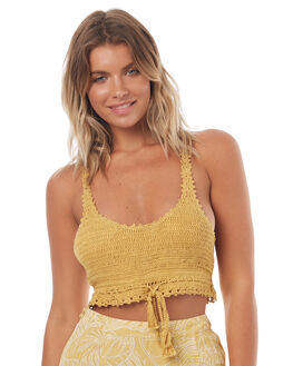 ANTIQUE GOLD WOMENS CLOTHING BILLABONG FASHION TOPS - 6572136A61