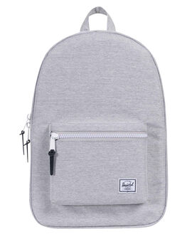 LIGHT GREY MENS ACCESSORIES HERSCHEL SUPPLY CO BAGS + BACKPACKS - 10005-01866-OSLGRY
