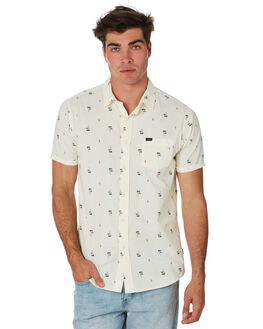 WHITE MENS CLOTHING RIP CURL SHIRTS - CSHMJ11000