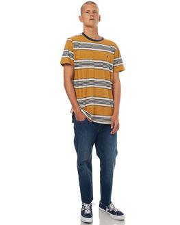 CARAMEL MENS CLOTHING VOLCOM TEES - A0131702CRL