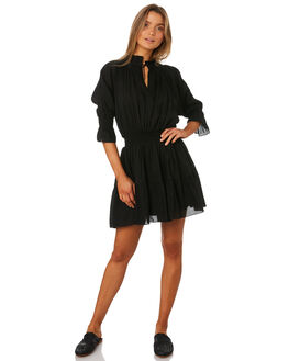 LA VITA BLACK WOMENS CLOTHING MLM LABEL DRESSES - MLM432BBLK