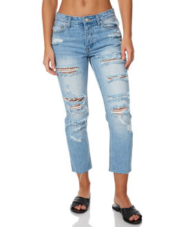 EAT YOUR HEART OUT WOMENS CLOTHING ZIGGY JEANS - ZW-1069EYHO