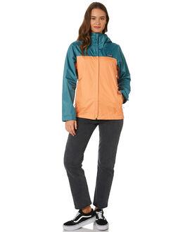 TASMANIAN TEAL WOMENS CLOTHING PATAGONIA JACKETS - 83807TATE