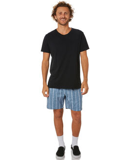 DUST BLUE MENS CLOTHING NO NEWS BOARDSHORTS - N5202233DSTBL