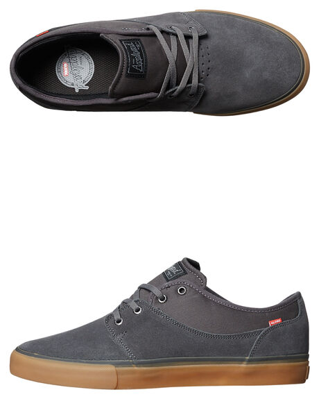 CHARCOAL GUM MENS FOOTWEAR GLOBE SKATE SHOES - GBMAHALO-15210