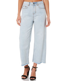 SALT BLUE WOMENS CLOTHING RUSTY JEANS - PAL1070STE