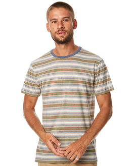 DUSTED OLIVE MENS CLOTHING RHYTHM TEES - APR17-CT04DOLV
