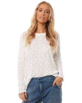 WHITE WOMENS CLOTHING O'NEILL KNITS + CARDIGANS - 4521412WHT