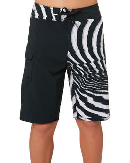 NEW BLACK KIDS BOYS VOLCOM BOARDSHORTS - C0831830NBK