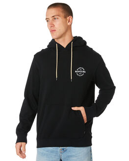WASHED BLACK MENS CLOTHING RIP CURL JUMPERS - CFEAA98264