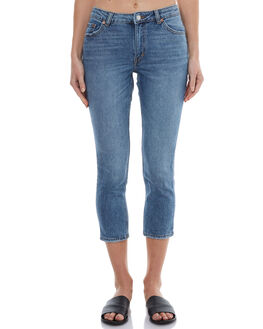 WASHED BLUE WOMENS CLOTHING CHEAP MONDAY JEANS - 0479757WBL