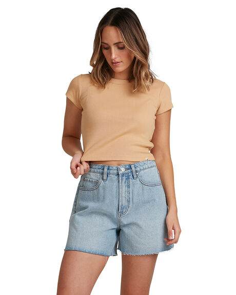 BISCUIT WOMENS CLOTHING BILLABONG TEES - BB-6503176-BF5