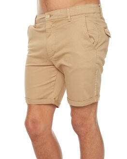 COFFEE MENS CLOTHING ACADEMY BRAND SHORTS - 18S608COF