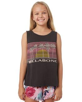 OFF BLACK KIDS GIRLS BILLABONG TOPS - 5581181BLK