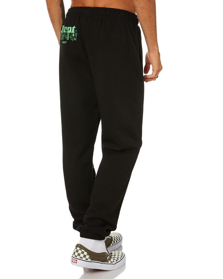 BLACK MENS CLOTHING MISFIT PANTS - MT015601BLK