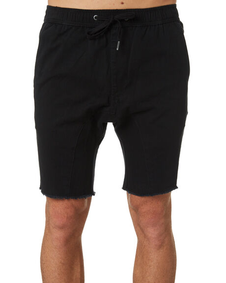 BLACK MENS CLOTHING ZANEROBE SHORTS - 639-MTGBLK