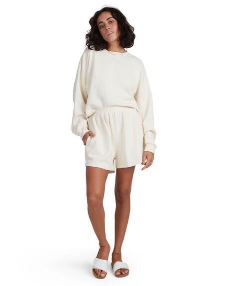 CREAM WOMENS CLOTHING BILLABONG SHORTS - BB-6517975-CRM