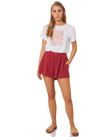 RUST WOMENS CLOTHING ELWOOD SHORTS - W94611557