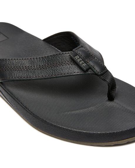 BLACK MENS FOOTWEAR REEF THONGS - A3FEZBLA