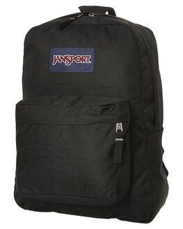 BLACK MENS ACCESSORIES JANSPORT BAGS + BACKPACKS - JST501_JS008BLK