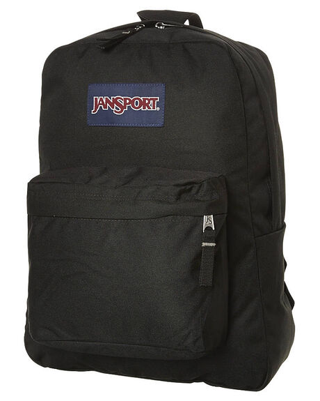 BLACK MENS ACCESSORIES JANSPORT BAGS - JST501_JS008BLK