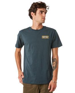 TEAL MENS CLOTHING RHYTHM TEES - JAN20M-PT04-TEA