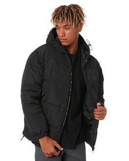 BLACK MENS CLOTHING SANTA CRUZ JACKETS - SC-MJB0620BLK