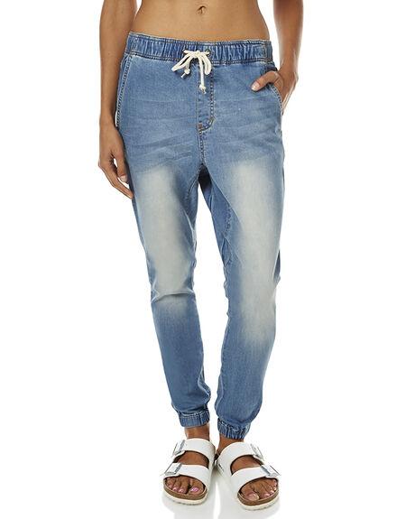 STONE BLUE WOMENS CLOTHING RUSTY PANTS - PAL0873SNL