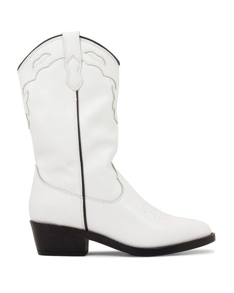 WHITE WOMENS FOOTWEAR ROC BOOTS BOOTS - INDIOWL-WHTVINFG